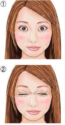 瞼の脂肪燃焼トレーニング4