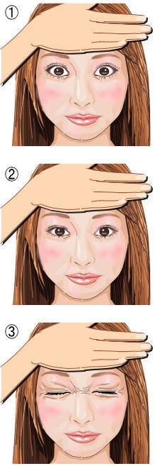 瞼の脂肪燃焼トレーニング2