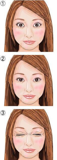 瞼の脂肪燃焼トレーニング3